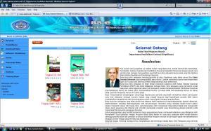 tampilan muka situs buku elektronik